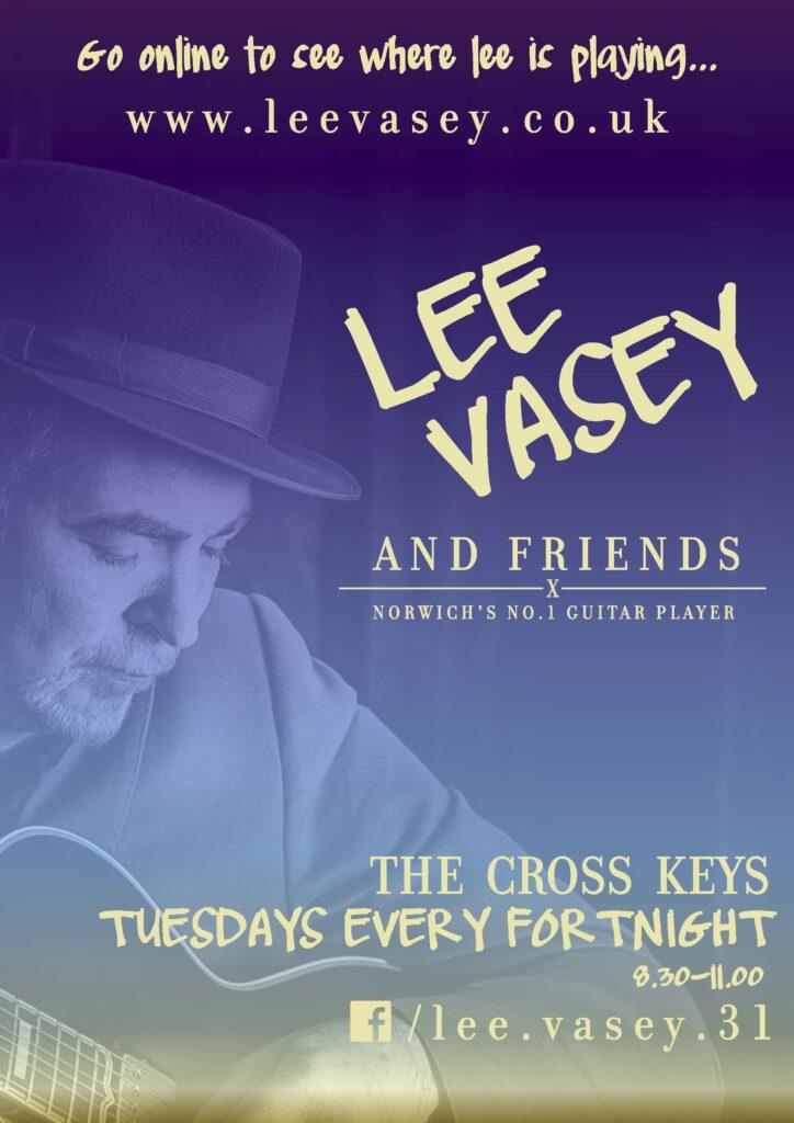 Poster for Cross Keys gig