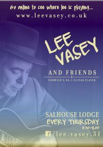 Poster for Salhouse Lodge gig